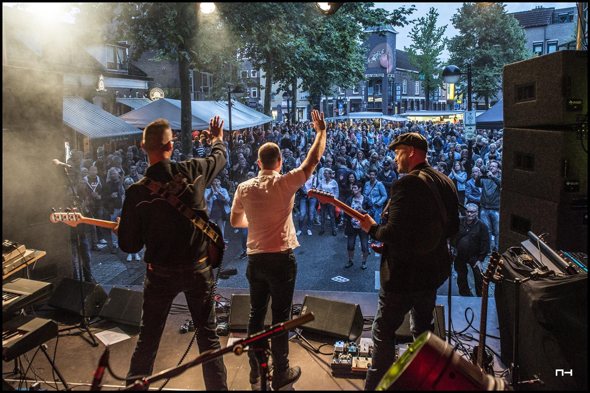 Enthousiast publiek tijdens C'est la Vie in Emmen 2017